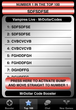 Screenshot Vampires Live – MrDollarCodes