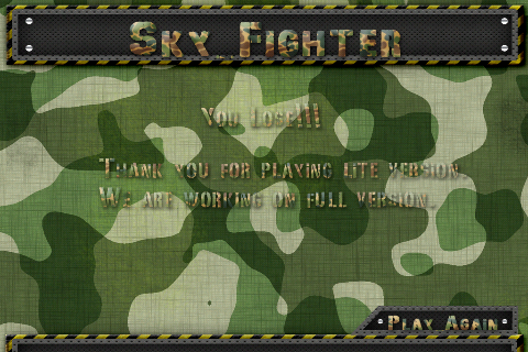 Screenshot iSky Fighter